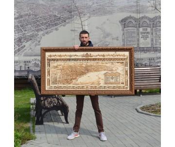 План - панорама г. Томска