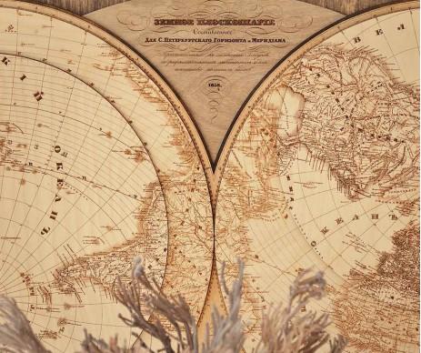 Карта Воробьёва